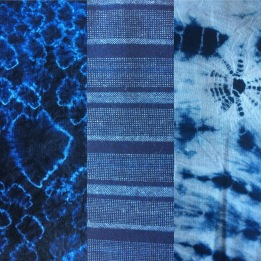 artisan blue indigo from Kyoto