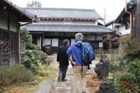 Japanese sake brewery Kyoto