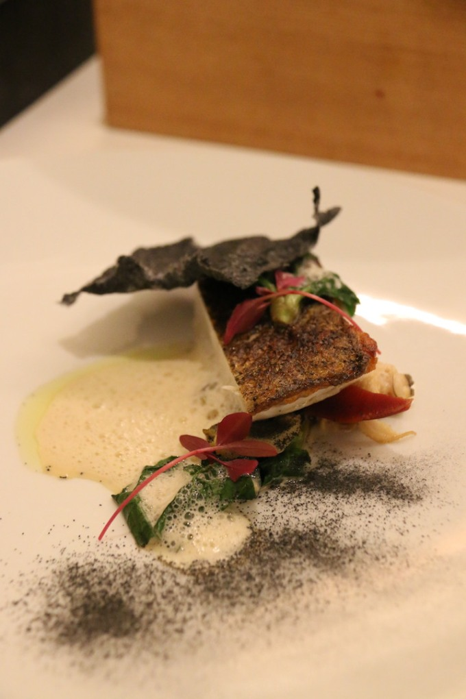 Reine des Pres - Fine Dining on French Food in Kyoto, Japan using local Kyoto ingredients and stunning seafood